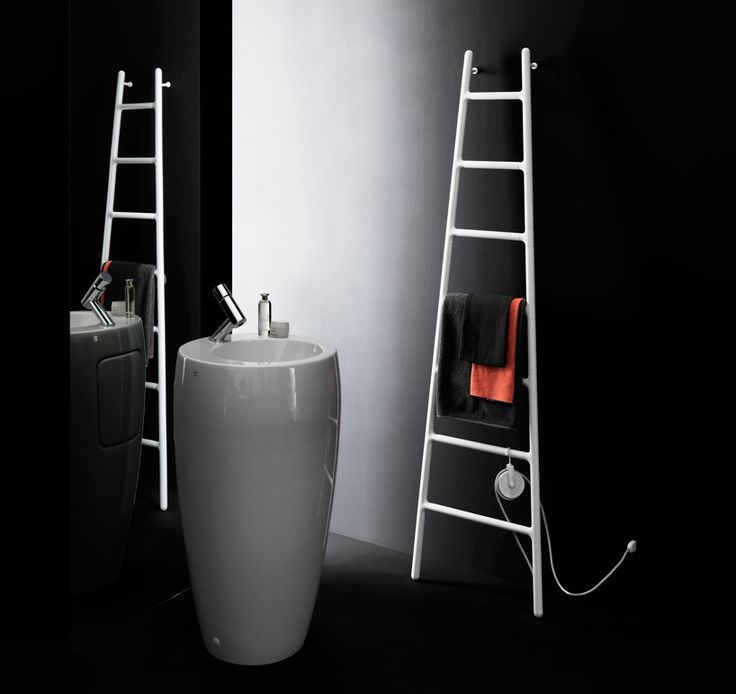 Who would have thought that a humble radiator could be so stunning! Scaletta by Italian studio Tubes Radiatori draws on the vision of a ladder leaning up against a wall. It can perform in the bathr...