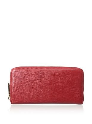 66% OFF Zenith Women's Zip-Around Wallet, Red