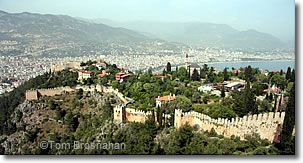 Turkey Travel Planner:  Alanya Fortress, Turkey