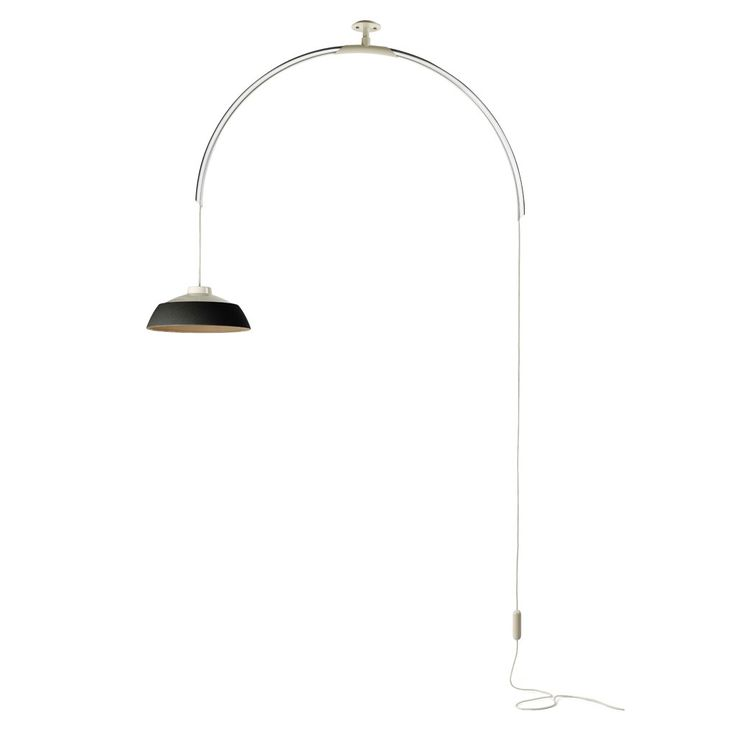 <p>In+one+fell+swoop+designer+Gino+Sarfatti+takes+statement+lighting+to+towering+new+heights.</p>  <p>Designed+in+1958,+the+Model+2129+Drop+Light+from+Flos+consists+of+a+transparent+arc+that+is+attached+to+the+ceiling+and+fully+rotatable,+showering+a+pool+of+light+360º+wherever+it's+positioned.</p…