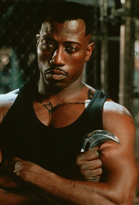 Wesley Snipes. I like his voice. It reminds me of Laurence Fishburne a little bit.