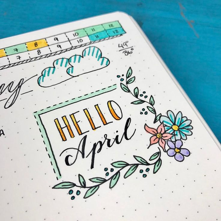 "5,960 Likes, 33 Comments - Kara  Boho Berry (@boho.berry) on Instagram: ""Hello, April! I just love the feeling of a new month! ☺️ - #bohoberrytribe #helloapril  #bujo…"""