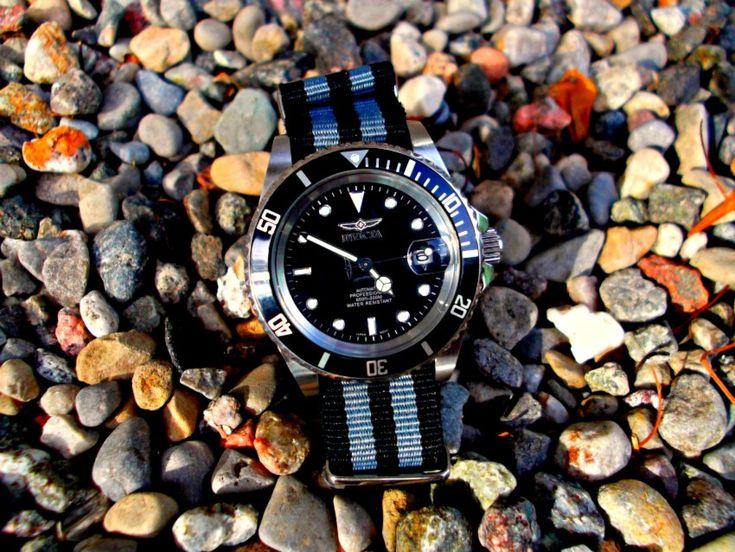 NATO strap on Invicta 8926 Diver