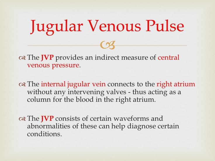 Image result for jugular venous pressure
