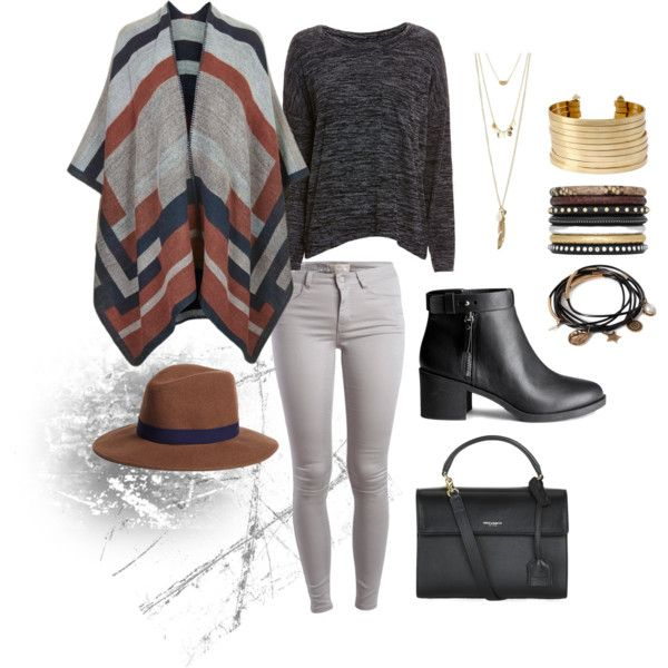 Western by monikazajac on Polyvore featuring rag & bone/JEAN, Topshop, Pieces, H&M, Yves Saint Laurent, Kenneth Cole, Forever 21, Charlotte Russe and Brooks Brothers