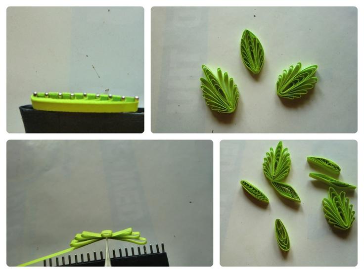 Paper Quilling Comb Design