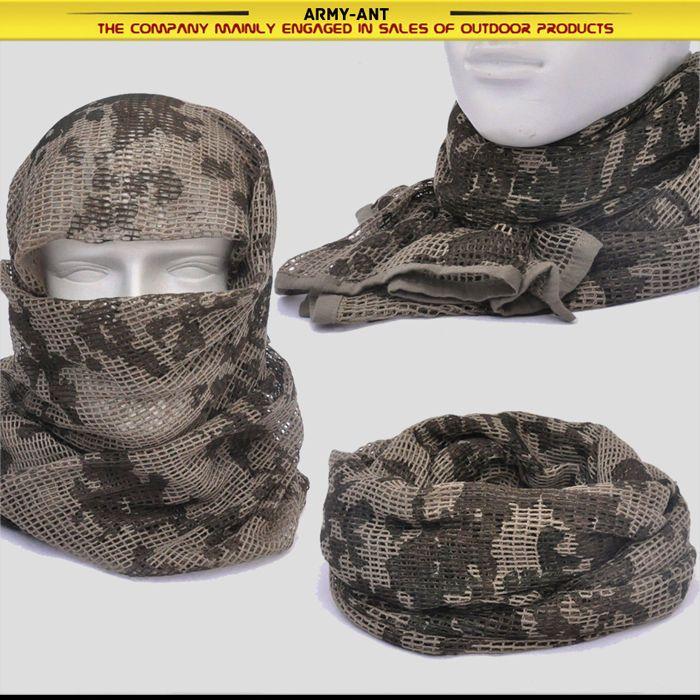 Alemania Desierto Camuflaje Camo Bufanda Envolvente Cubierta de Malla Máscara Shemagh Francotirador Velo | Objetos de colección, Objetos militares, Excedentes | eBay!