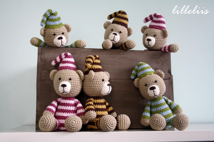 .cute stripped bears