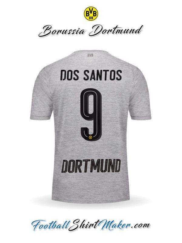 Camiseta Borussia Dortmund 2017/2018 Tercero Dos santos 9