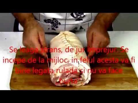 Rulada din burta de porc, pancetta, afumata, fiarta si condimentata sau crud-uscata - YouTube