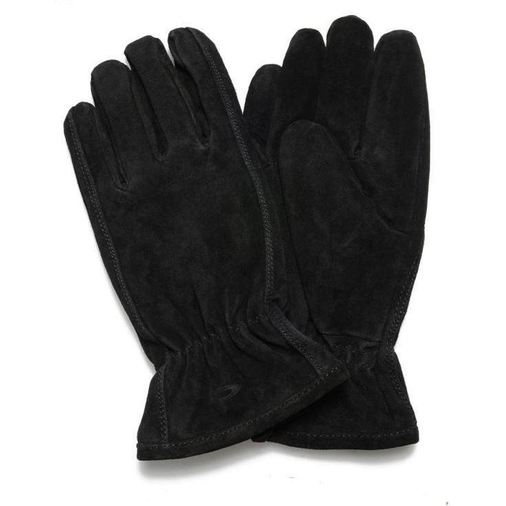 Camel Active Black Basic Leather Glove