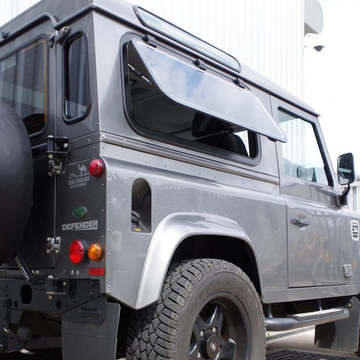 Side Windows for Land Rover Defender - 1107mm Camper Style Side Window - DARK tint