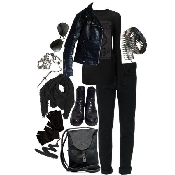"""""""Random Winter Outfit"""" by paintedsouldesign on Polyvore"""