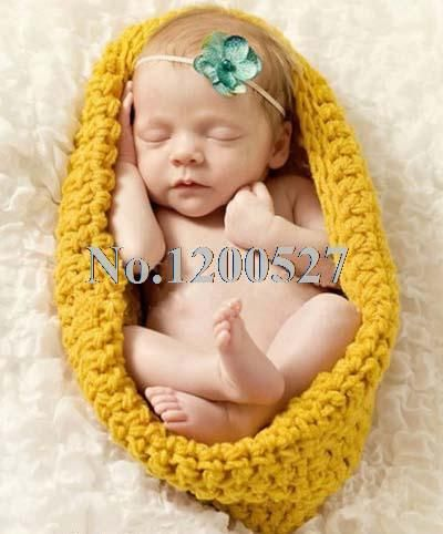 free crochet baby sleep sacks | ... Sleeping Bags Hand Crocheted Baby Swaddle Cuddle Sack Photo Prop(China