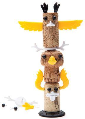 Décoration Corkers Totem / Pour bouchons de liège Multicolore - Pa Design - Décoration et mobilier design avec Made in Design