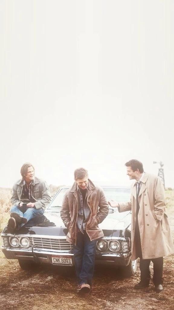 ✔ Wallpaper Lockscreen Supernatural (Sam, Dean e Cass)