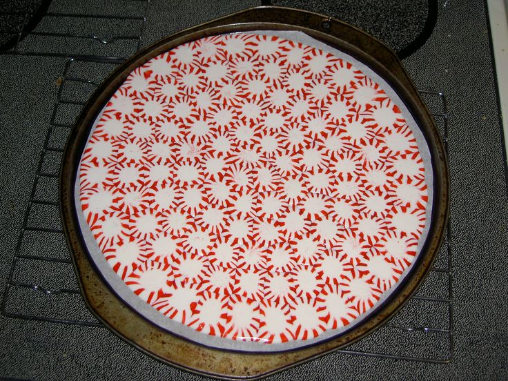 Peppermint plates and peppermint candy on pinterest