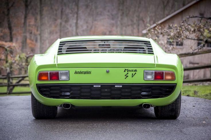 1969 Lamborghini Miura P400S SV Specification - LGMSports.com