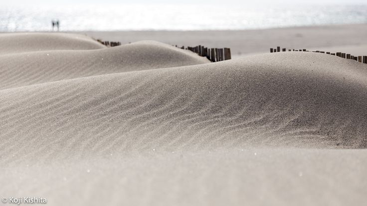 Sand wave - Once there was a Nakatajima dunes in Hamamatsu.
