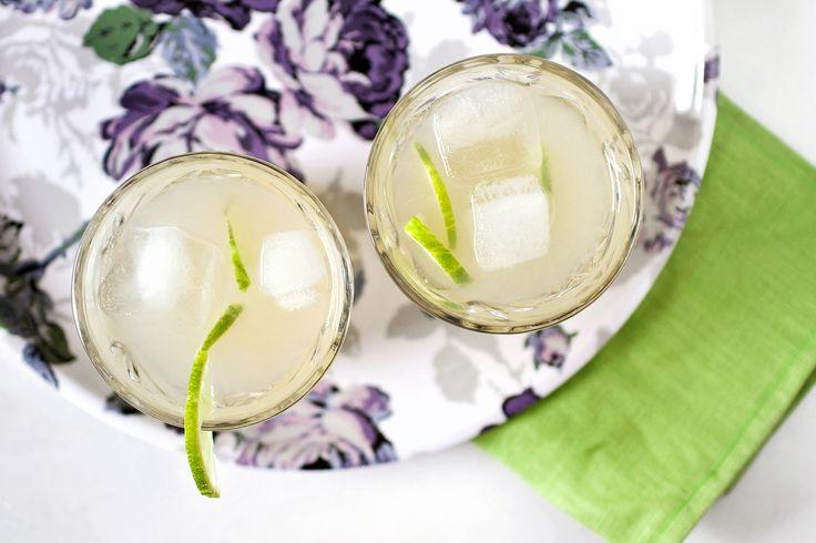 Fräsch, frisk och festlig alkoholfri cocktail med ingefära och lime.