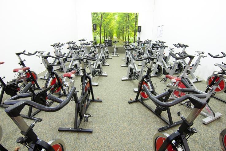 Spinning At Werblin Stationary Bike Health Fitness Gym Equipment