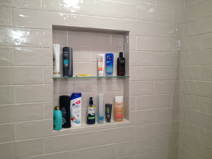 Shower Niche With Tempered Glass Shelf Marazzi Middleton