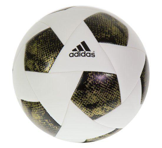 adidas VoetbalKinderen en volwassenen - wit/zwart/goud