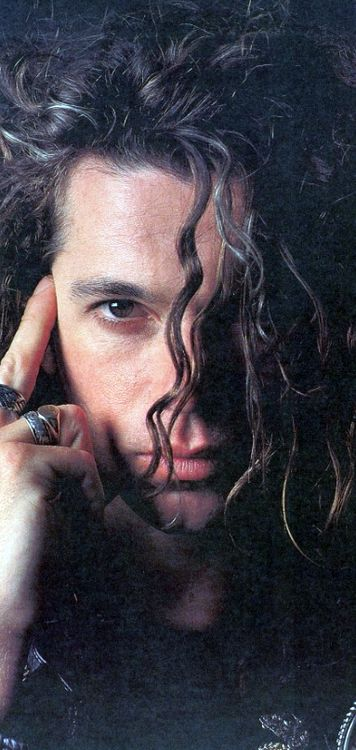 Michael Hutchence 1988...oh my heart. I cried the day you died.  Your voice forever in my soul.