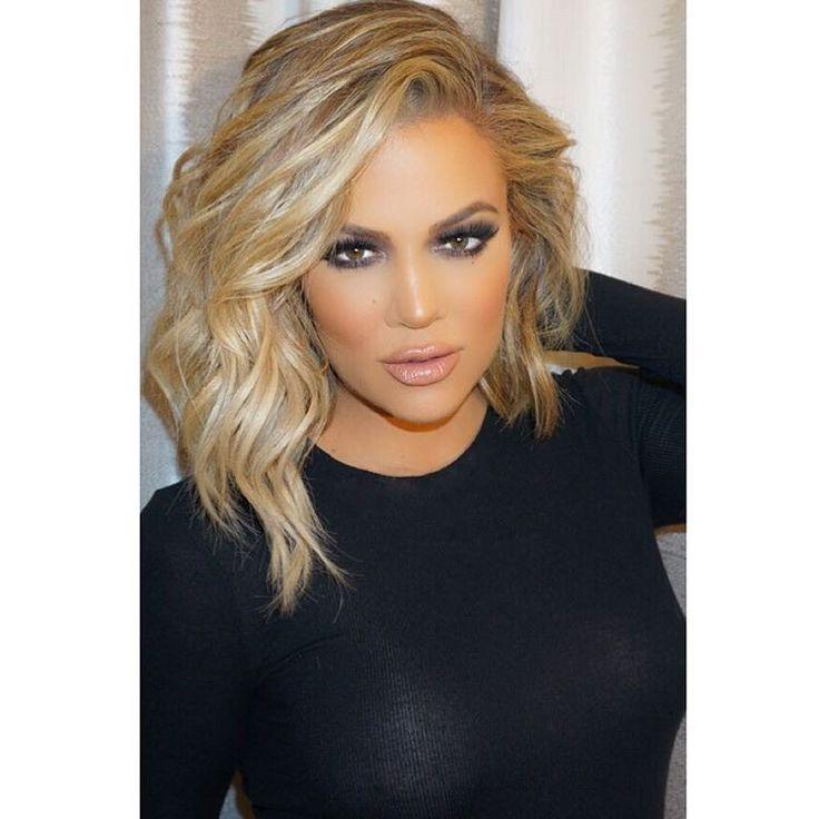 Khloe Kardashian love the new hair