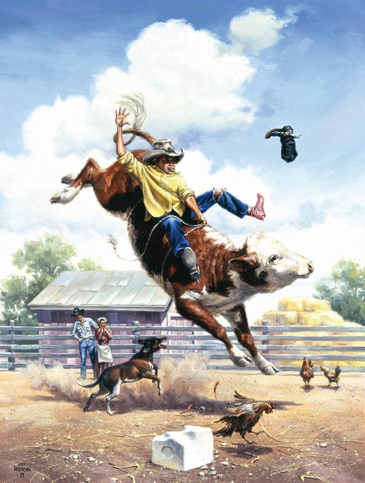 17 Best Images About Jack Sorenson Cowboy Art On Pinterest