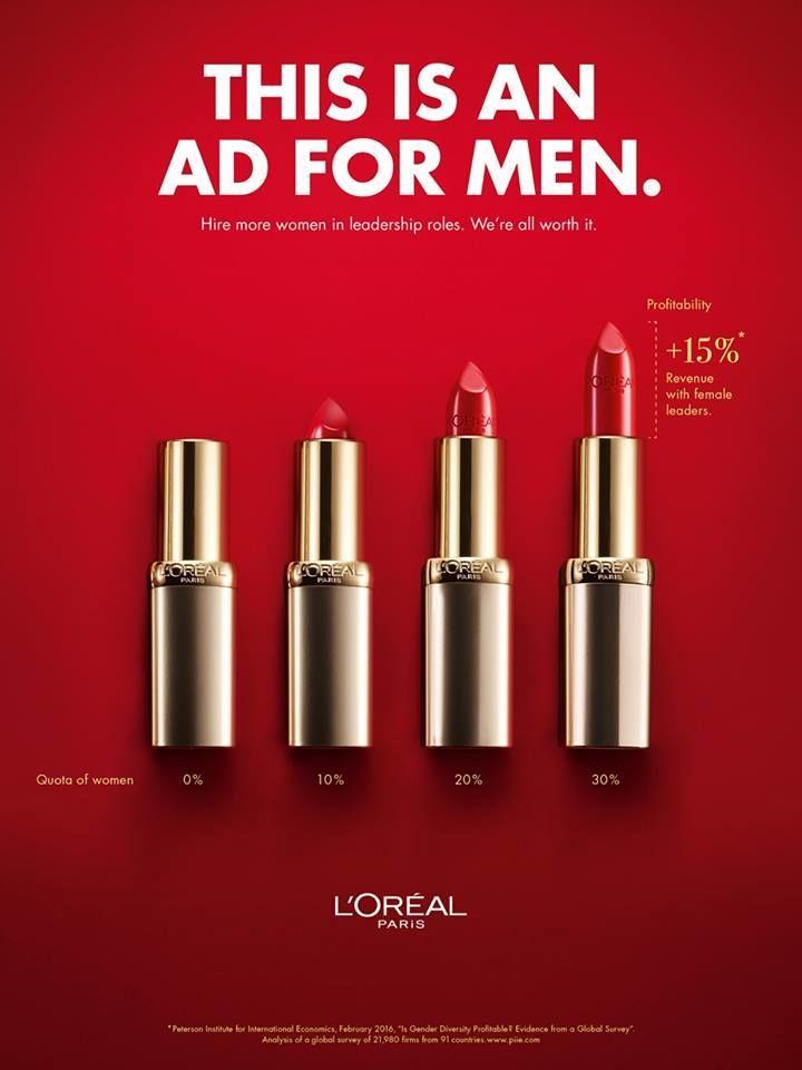 Bold Statement Making Beauty Ads Ads Creative Beauty Ad Print Ads