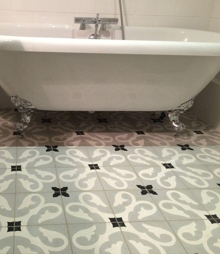 51 best Carreaux de ciment images on Pinterest Cement tiles, Hall - pose d une hotte decorative