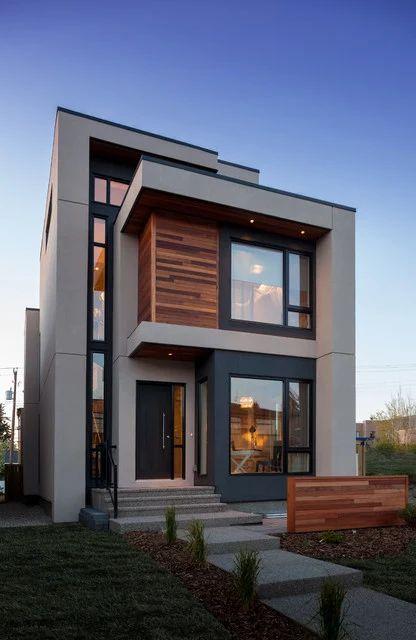 331 melhores imagens sobre fachadas residenciais no for Fachadas de casas modernas en quito