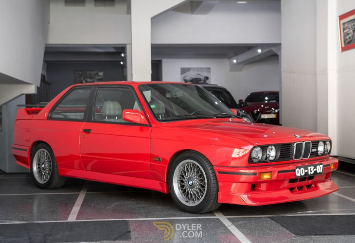 Bmw M3 E30 Evolution Ii 400 500 Coupe 1988 Red E30 Evolution Ii
