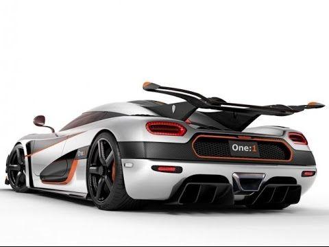 Автомобили мечты #22. Koenigsegg One:1