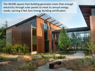 Net Zero Energy Building Certification finally defines what Net Zero really means http://www.TreeHugger.com/green-architecture/net-zero-energy-building-certification-finally-defines-what-net-zero-really-means.html >>  International Living Future Inst: https://ILBI.org/lbc/netzero