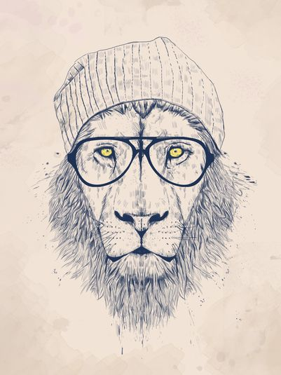 COOL LION » Prints