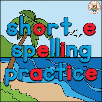 This CVC Short E Spelling Practice PowerPoint self-checking game is fun, interactive, and hands on! It is brilliant for spelling test prep, end of year or summer review, phonics practice, and a great assessment tool. CHECK OUT THE PREVIEW - CLICK THE PDF PREVIEW TO WATCH A VIDEO OF THIS PRODUCT IN ACTION.