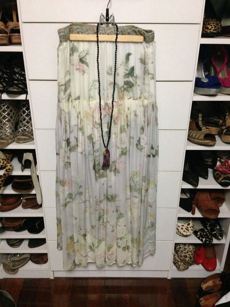 Camilla skirt, Chan Luu necklace