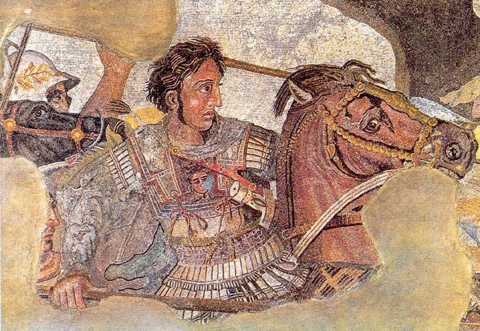 Alexander the Great's empire stretched from the Balkans to modern-day Pakistan.