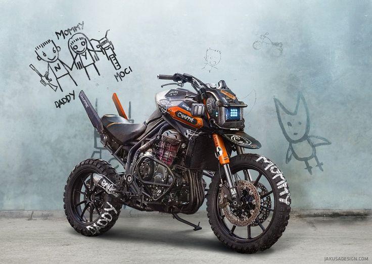 KTM Duke 200 Custom – Chappie | DERESTRICTED