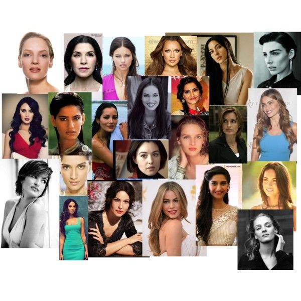 Kibbe Soft Dramatic Celebrities by rebeccalange on Polyvore featuring beauty, Sonam Life and L'Oréal Paris