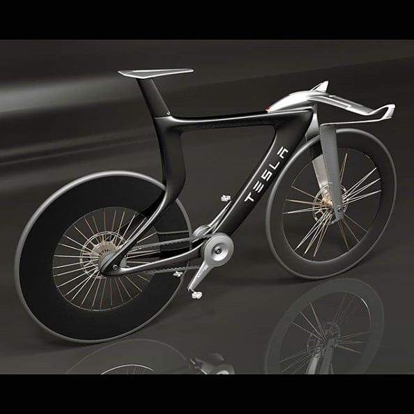 Tesla Concept Bike What Do You Think Follow Us Now