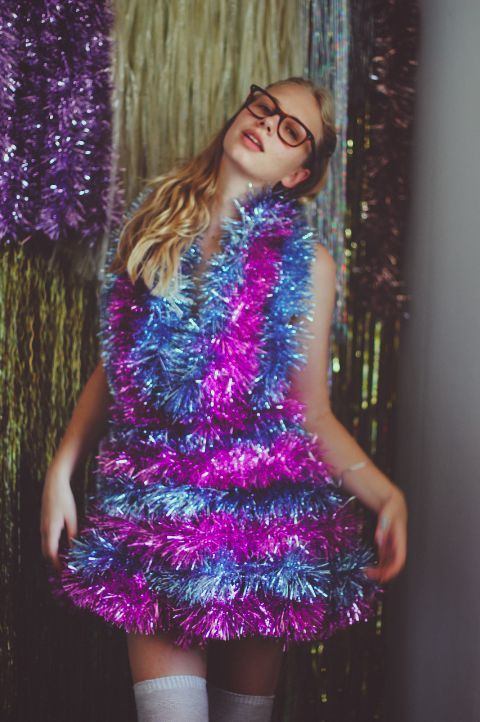 more tinsel, please.
