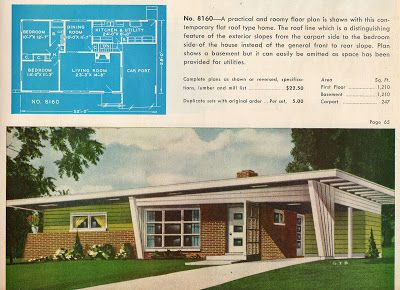 25 best ideas about atomic ranch on pinterest for Atomic ranch floor plans
