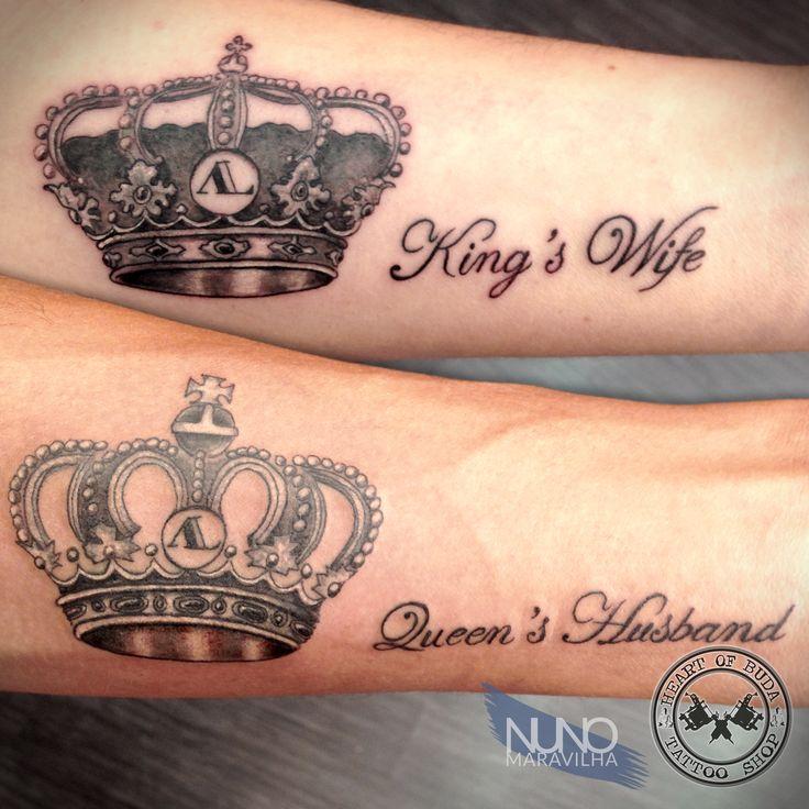 Crown tattoo tattoos by nuno maravilha pinterest