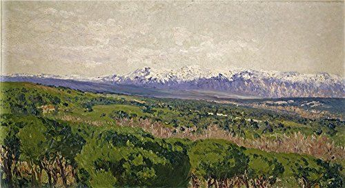 Oil Painting Beruete Y Moret Aureliano De El Guadarrama 1911  Printing On Perfect Effect Canvas  10 X 18 Inch  25 X 47 Cm the Best Bedroom Decoration And Home Artwork And Gifts Is This Cheap But High Quality Art Decorative Art Decorative Canvas Prints