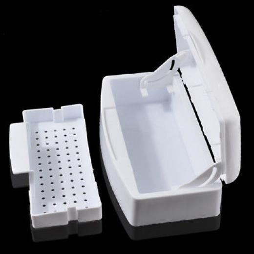 Nail Art & Makeup Tools Disinfection Layer Sterilizing Tray Clean Equipment Box