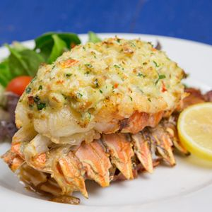 Lobster Stuffed with Crab Imperial Recipe - Delish