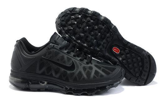 cheapshoeshub.com 429889-011 Nike Air Max 2011 Women's Running Shoe Blackout Sale